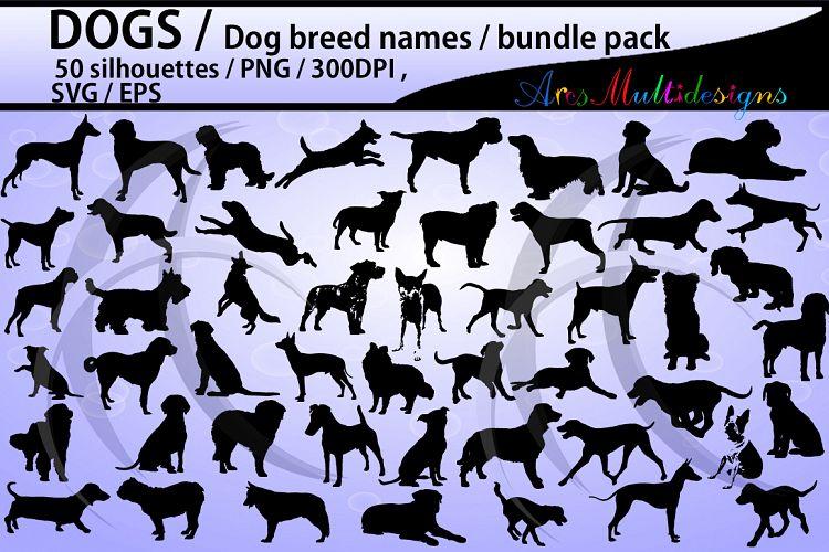 Dog silhouette svg