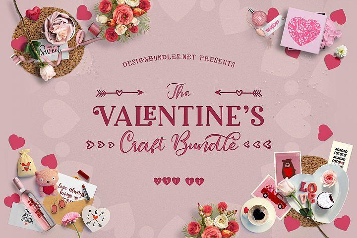 the valentine craft bundle